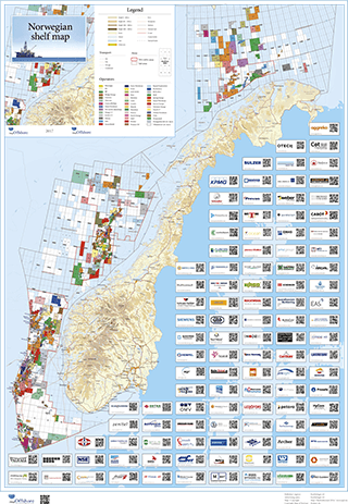 Norwegian Shelf Map 2017