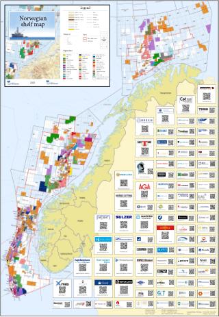 Norwegian Shelf Map 2020
