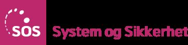 system og sikkerhet logo